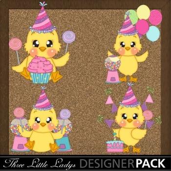 Birthday Chicks- Girl