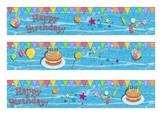 Birthday Bulletin Board Border