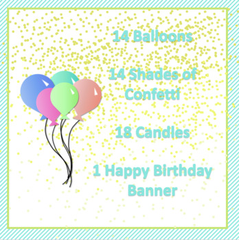 Birthday Clip Art - 47 Images!