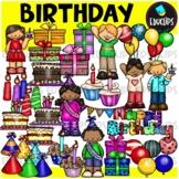 Birthday Clip Art Bundle {Educlips Clipart}