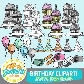 Birthday Clip Art [Full-On Sunshine Clip Art]