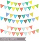 Birthday Clipart BUNDLE - backgrounds, borders, banners, b