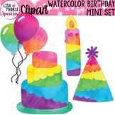 Birthday Clipart Watercolor