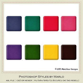 Birthday Colors Texture Photoshop Style