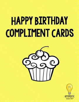 Birthday Compliment Cards