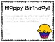 Birthday Coupons for Students