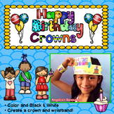 Birthday Crown : Crowns and Wristbands - Birthday Craft Activity
