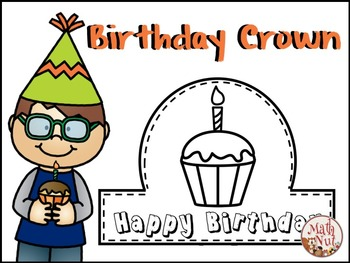 "Happy Birthday ""Birthday Crown"" (Back to School)"