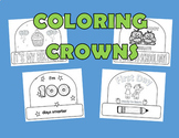 Crowns, Back to School Crown, Birthday Crown, 100 Days of School Crown