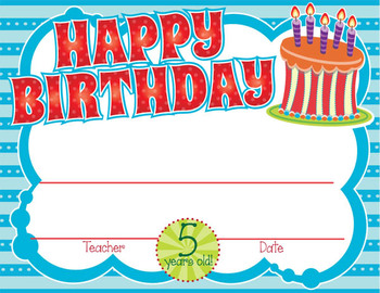 Birthday Crowns, Certificates & Letterhead Pack