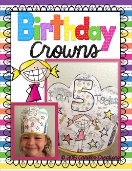 Birthday Crowns!  {FREEBIE}