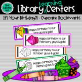 Birthday Cupcake Bookmarks
