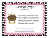 Birthday Cupcake Graph