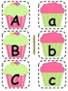 Alphabet Matching Cards ~ Birthday Cupcakes