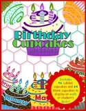 Birthday Cupcakes Bundle: Classroom Birthday Lables