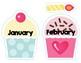 Birthday Cupcakes Classroom Display