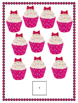 Birthday Cupcakes Counting Activity for Special Education