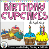 Birthday Display - Cupcakes
