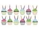 Birthday Cupcakes Display Board | Cute & Colorful | Editable