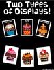 Birthday Display Board Cupcakes - Editable Name Plates
