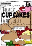 Awesome Birthday Cupcakes Wall Display