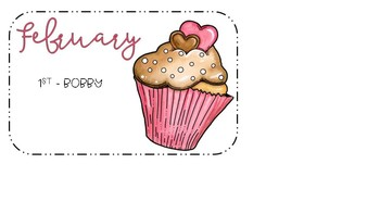 Birthday Cupcakes [editable]