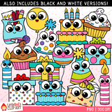 Birthday Cuties Clip Art