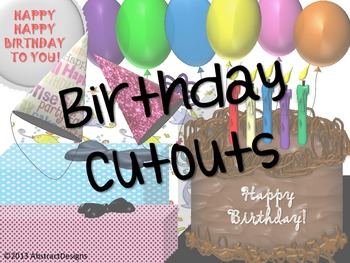 Birthday Cutouts