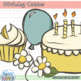 Birthday Daisies Clip Art Set - FREE!