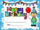 Happy Birthday Classroom Decorations