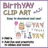 Birthday Digital Illustration Clip Art