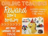 Birthday Dino - VIPKID Reward - ESL Online Teaching