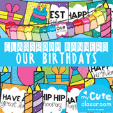 Birthday Display Banner {Our Birthdays}