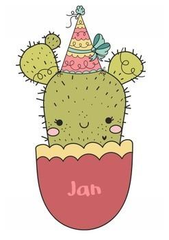 Birthday Display - Cactus Theme