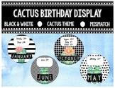 Birthday Display- Cactus Theme