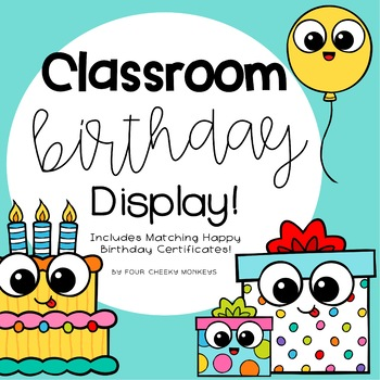 Birthday Display Charts