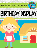 Birthday Display EDITABLE