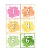 Birthday Display Editable - Watercolor Theme Classroom Birthday Board