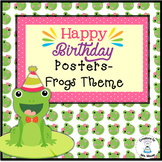 Birthday Display - Frog Theme