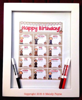 Birthday Bulletin Board Display, Certificates, & Banner {with Famous Composers}