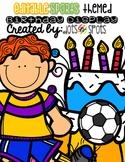 Editable Birthday Display (Sports theme)