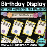 Birthday Display | Birthday Chart | Birthday Calendar | Bi