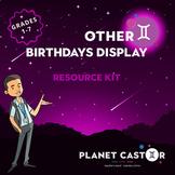 Birthdays Display Kit | Celebrate Student's Special Days |