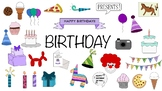 Birthday Doodle Clipart