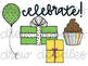Birthday Doodles Digital Clip Art Set