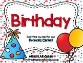 Birthday Dramatic Play Center