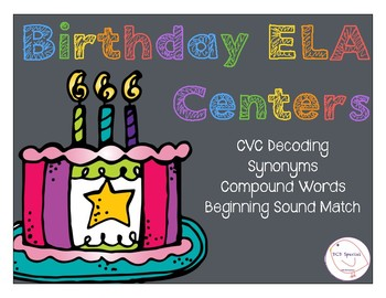 Birthday ELA Centers