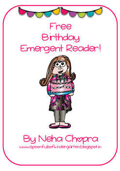 Birthday Emergent Reader