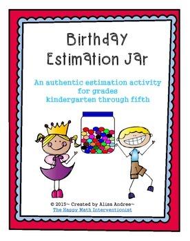 Birthday Estimation Jar