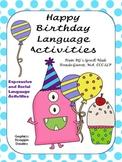 Birthday Expressive and Social Language